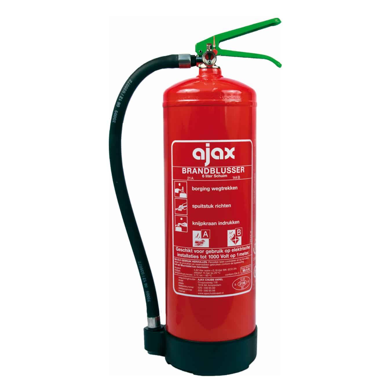 Koop Ajax ES-6N Brandblusser schuim 6 liter
