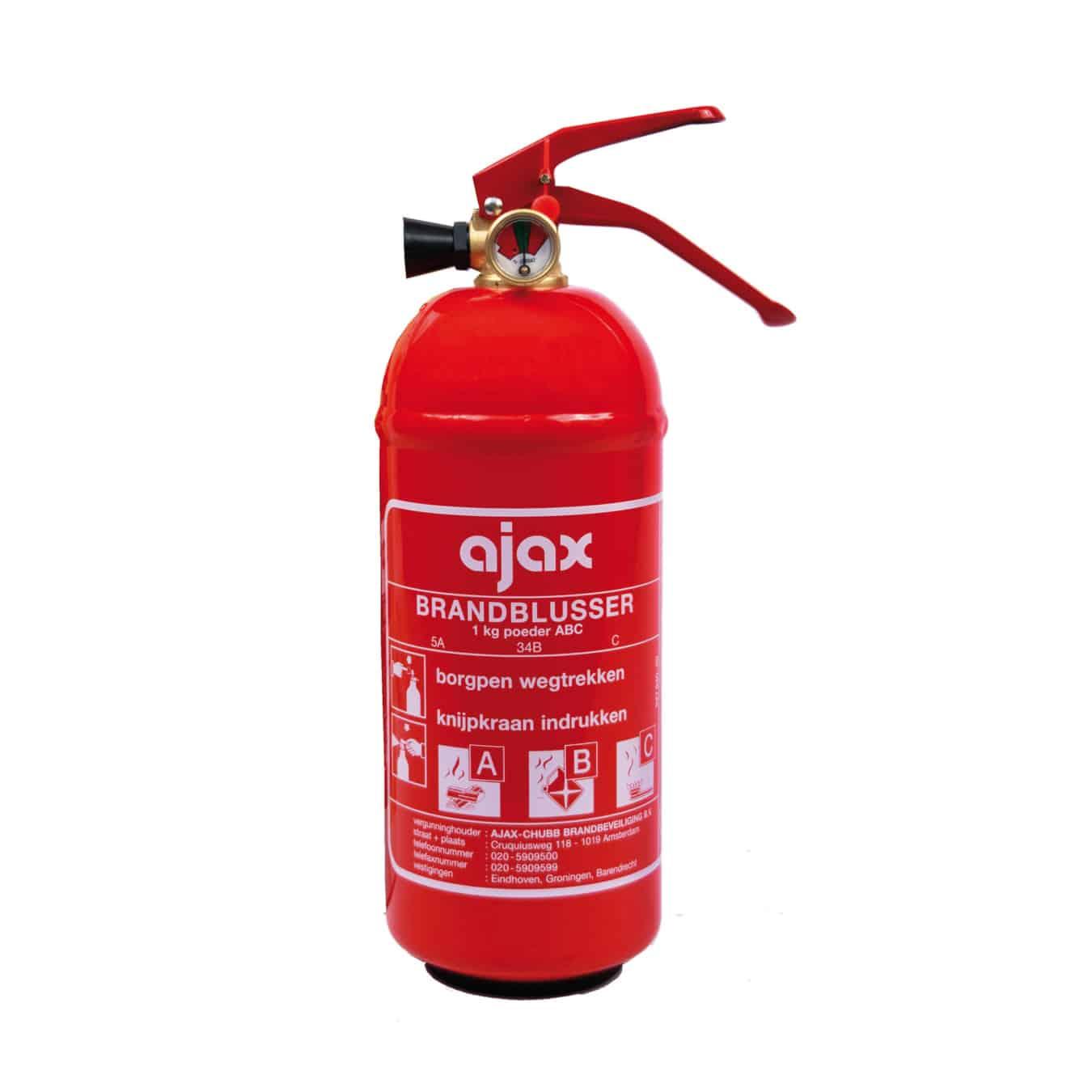 Koop Ajax KP1 Brandblusser poeder 1 kg