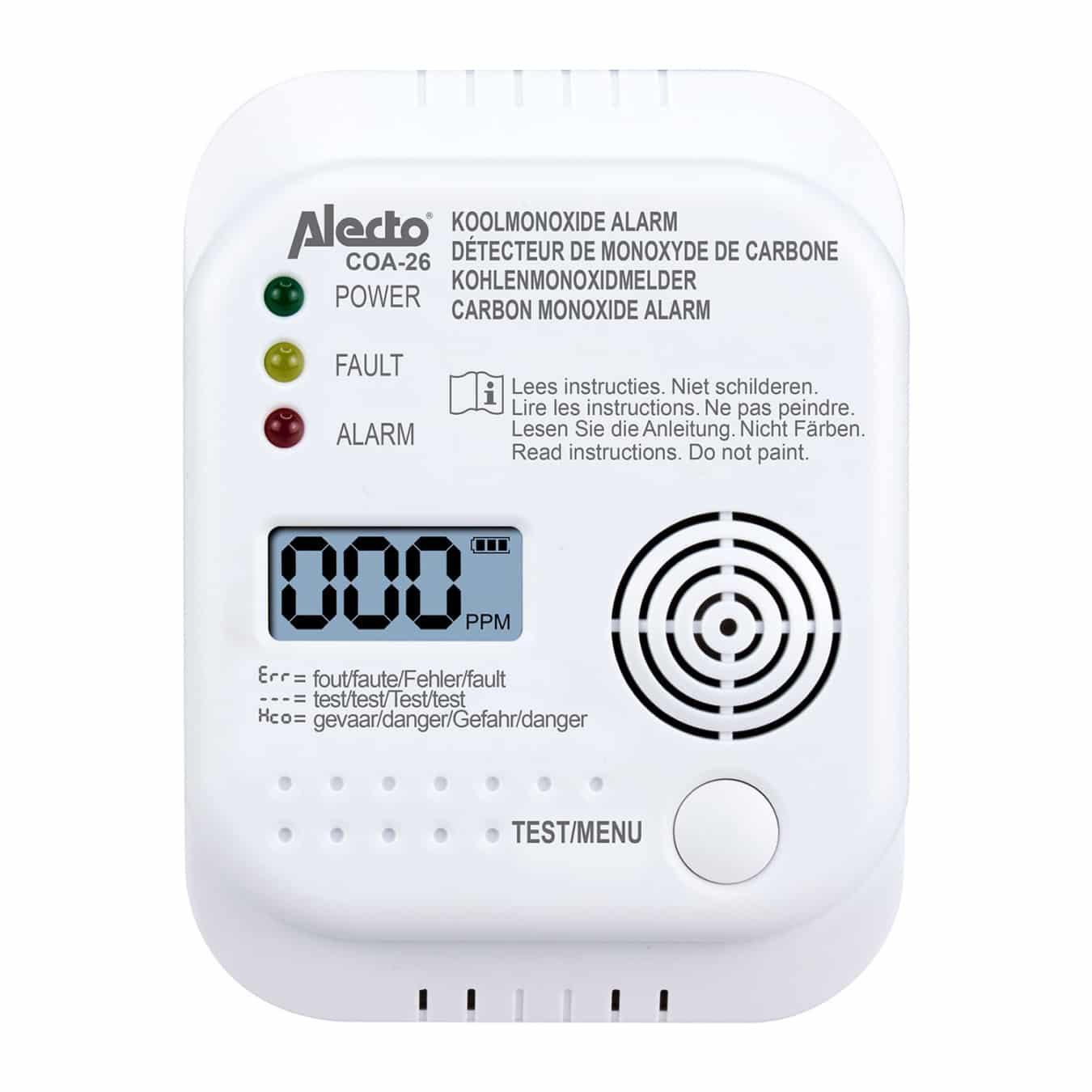 Koop Alecto COA-26 Koolmonoxidemelder