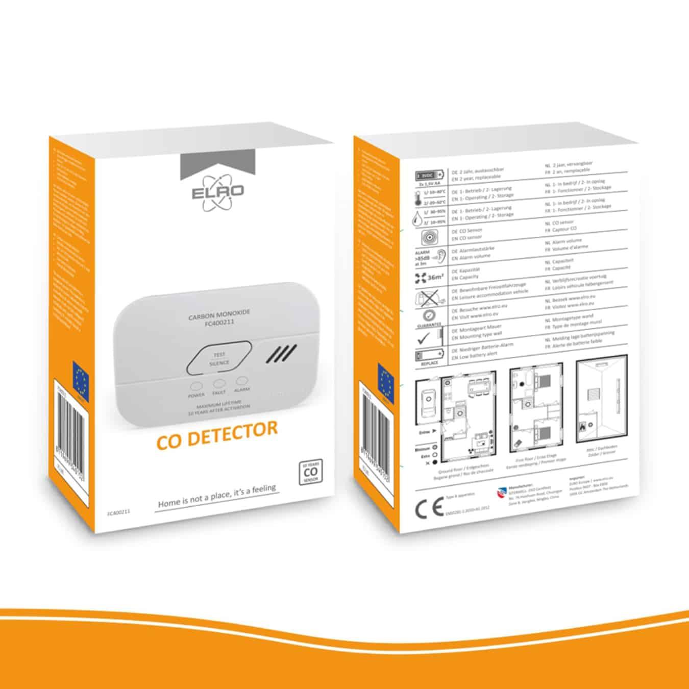 Koop ELRO FC400211 Koolmonoxidemelder