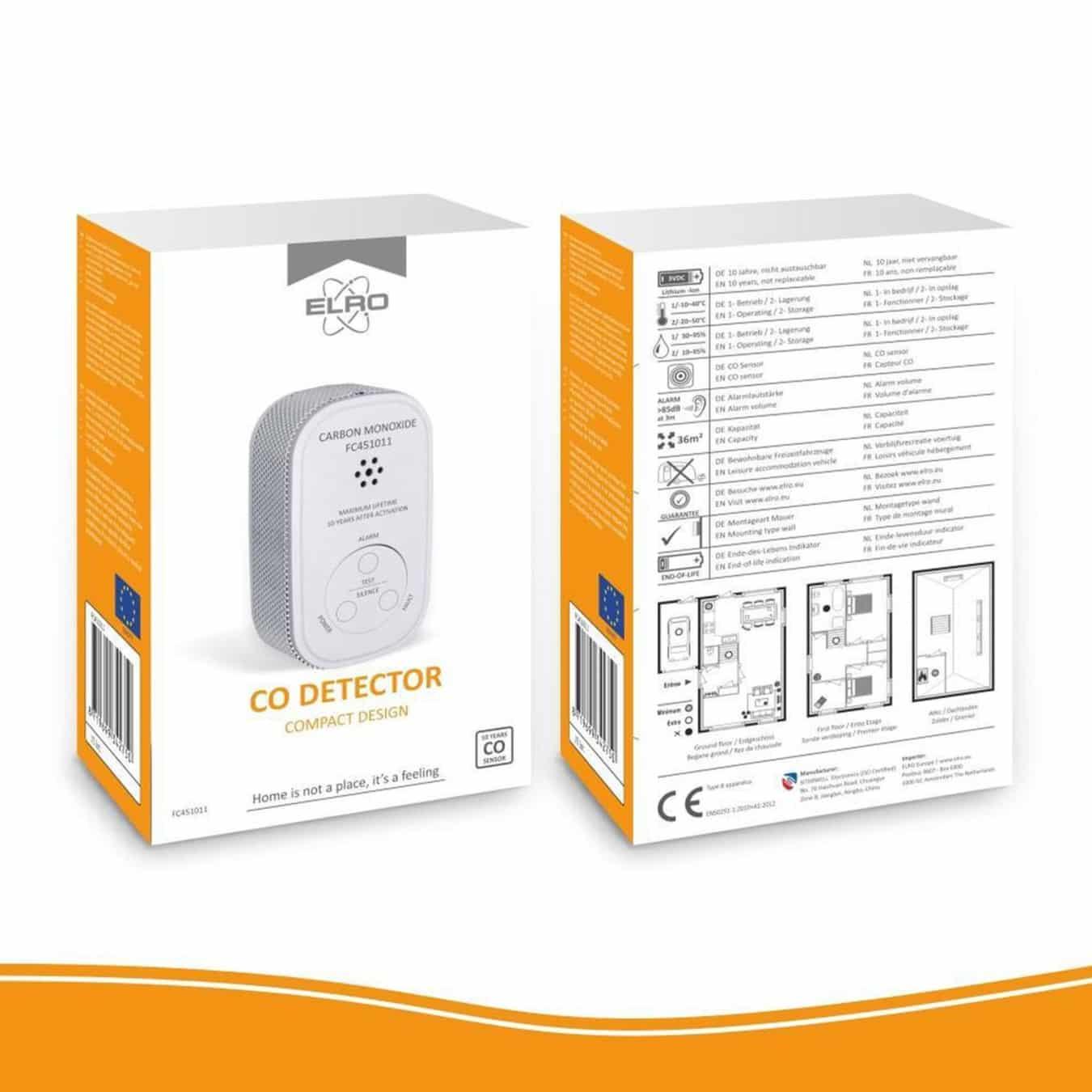 Koop ELRO FC451011 Koolmonoxidemelder compact