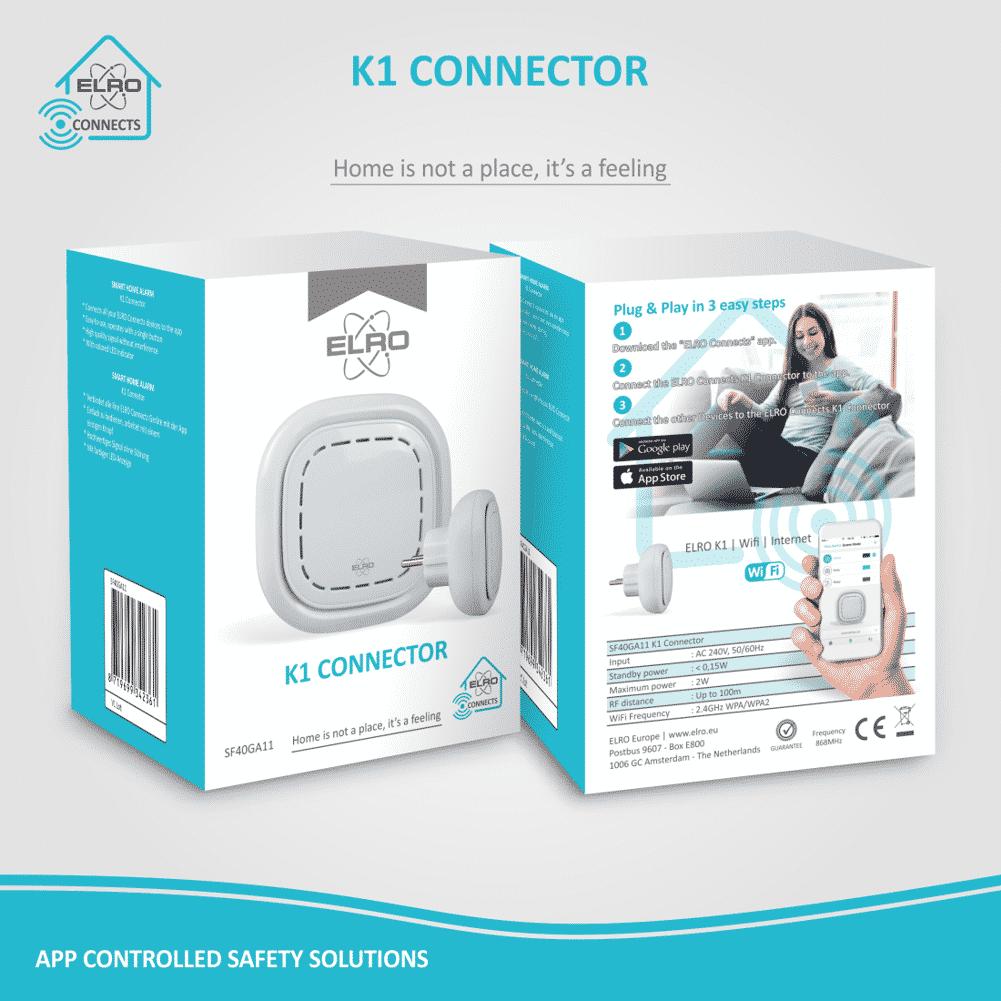 Koop ELRO Connects K1 connector