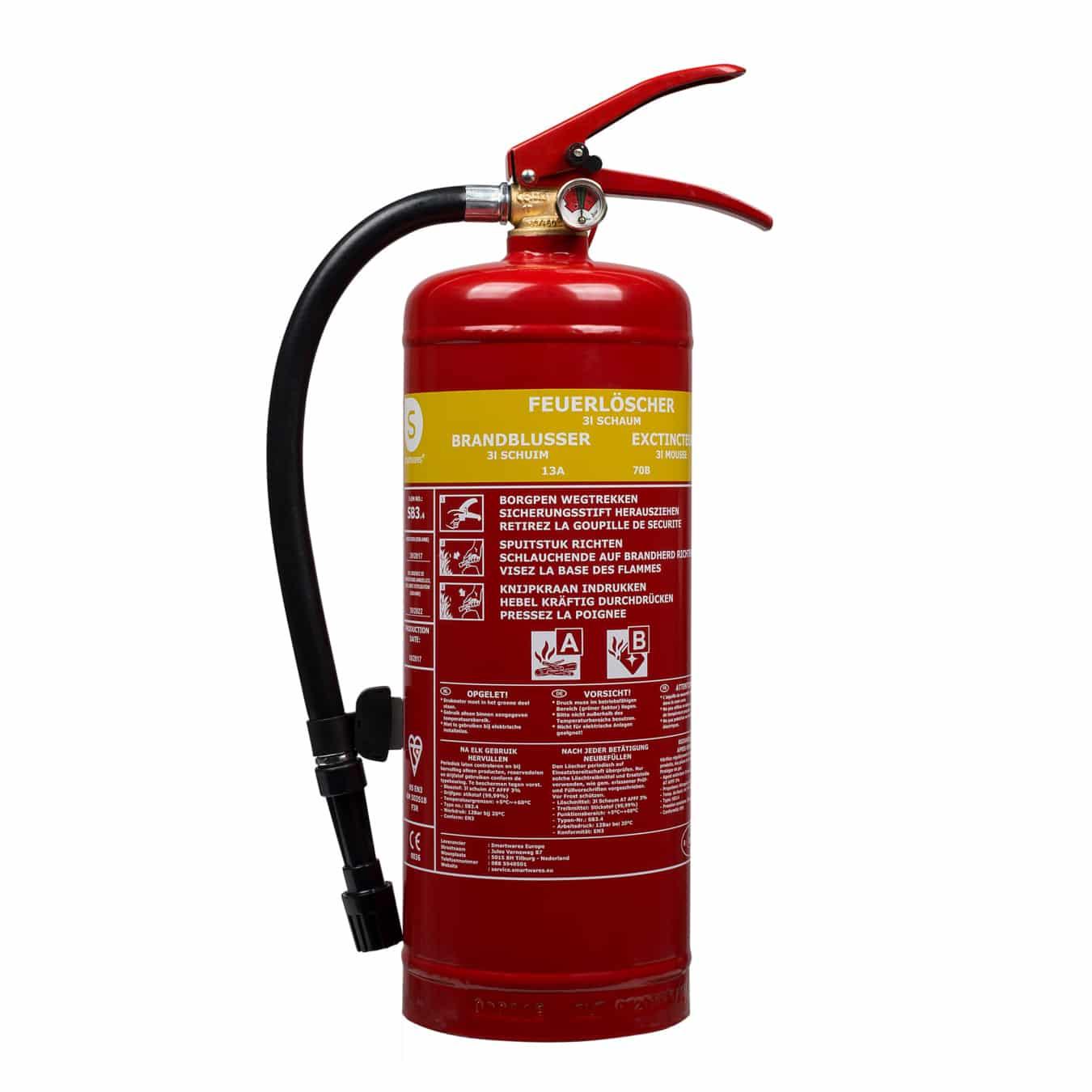 Koop Smartwares FEX-15230 Brandblusser schuim 3 liter