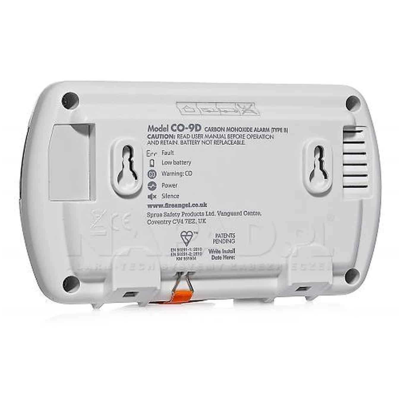 Koop FireAngel CO-9D BNLT Koolmonoxidemelder