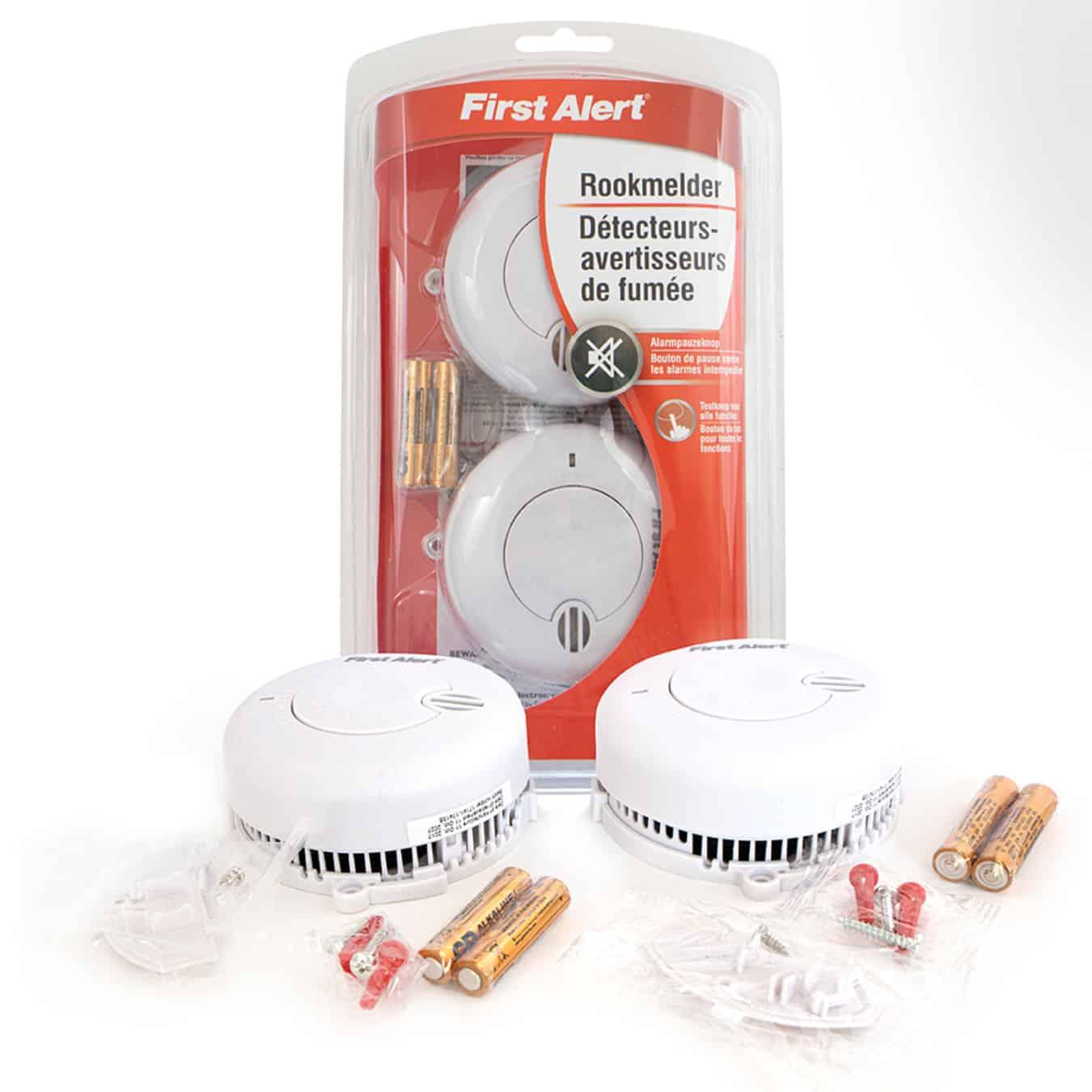 Koop First Alert SA702 Rookmelders 2-pack