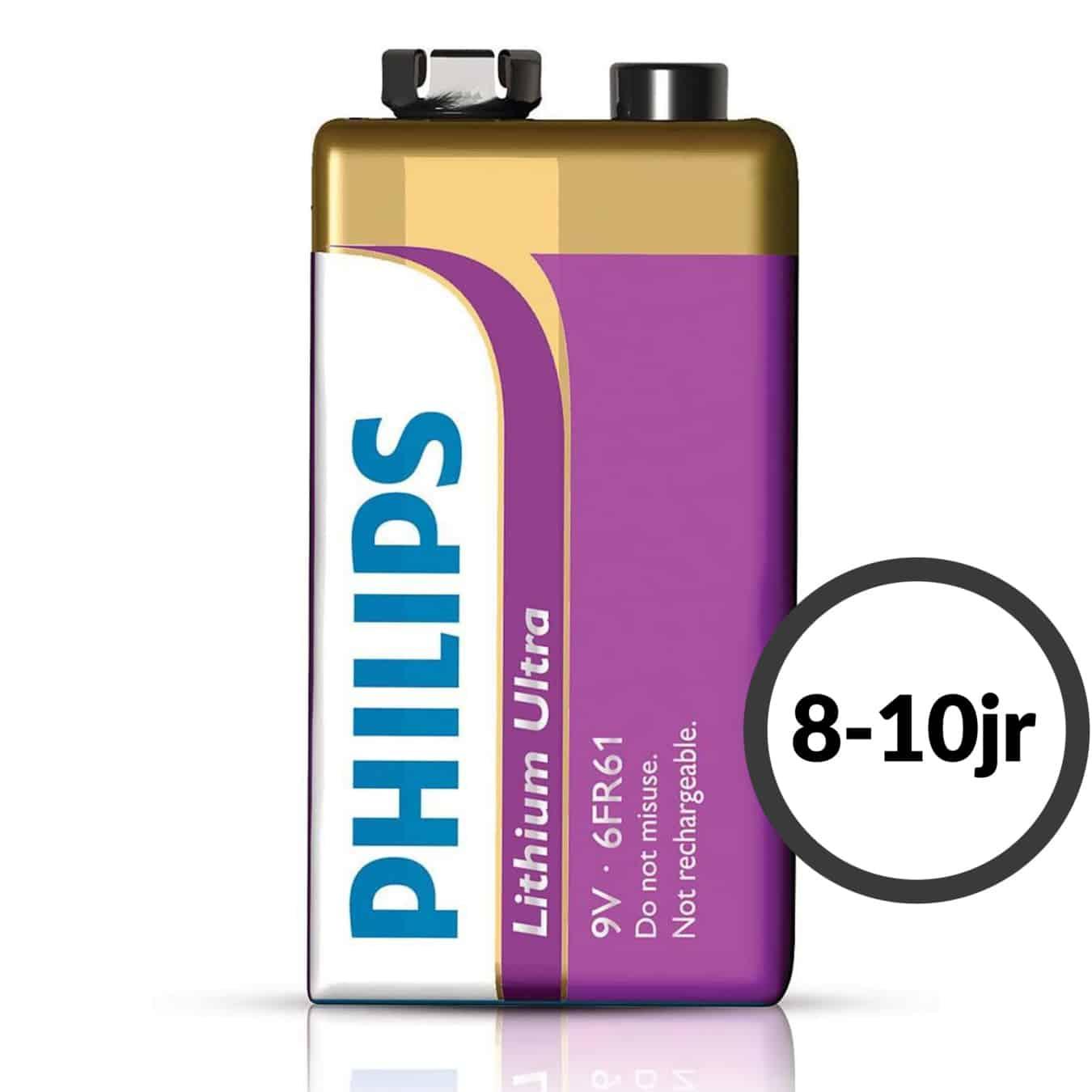 Koop Philips 9V Lithium Ultra accu 6FR61