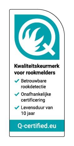 Q-merk rookmelder