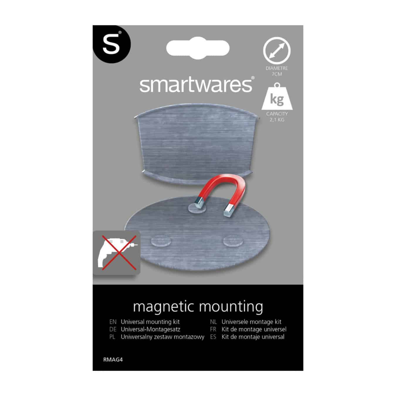 Koop Magnetische montageset RMAG60 XL - 60 mm