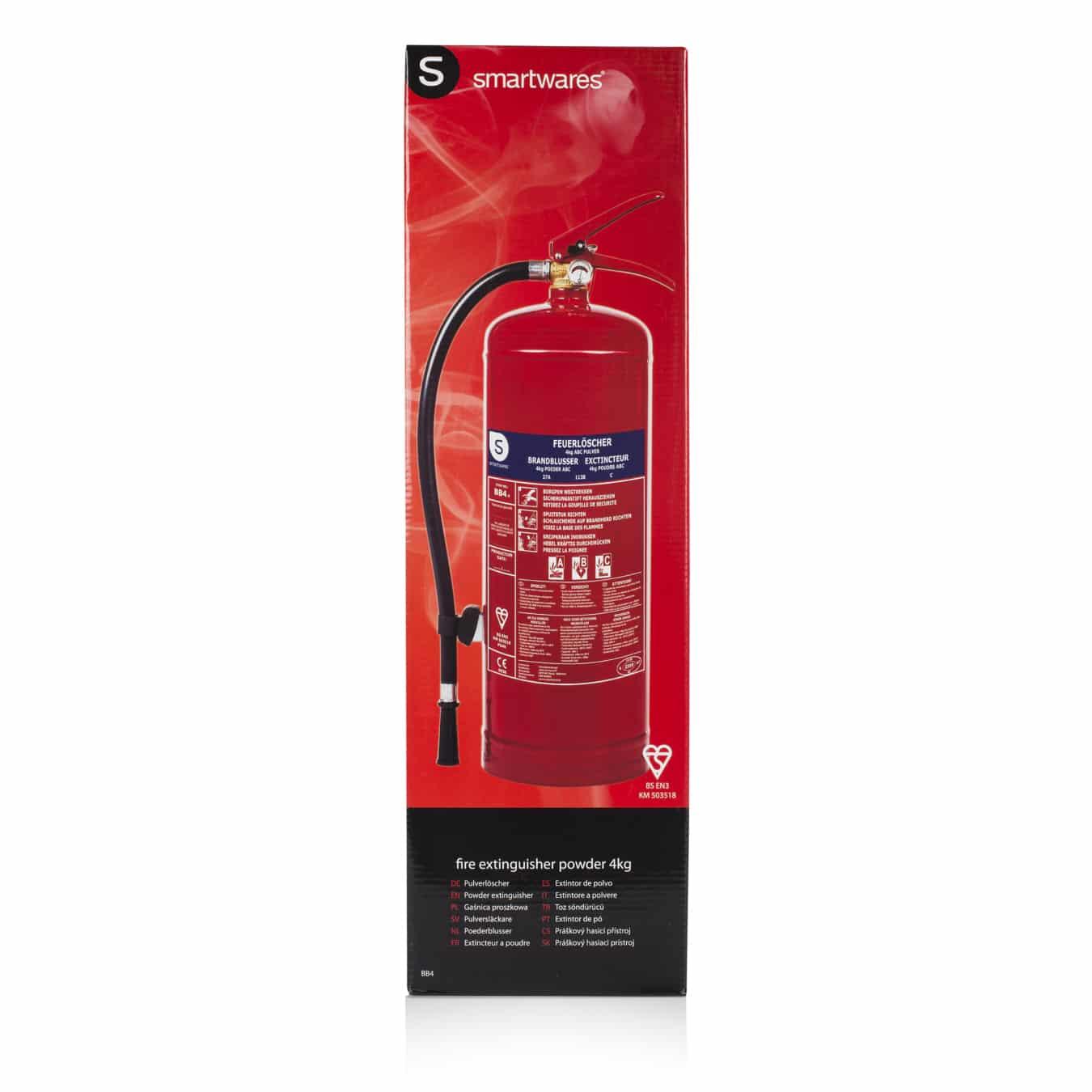 Koop Smartwares FEX-15140 Brandblusser poeder 4 kg