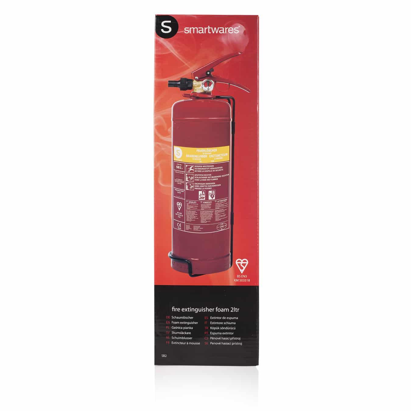Koop Smartwares SB2 Brandblusser schuim 2 liter
