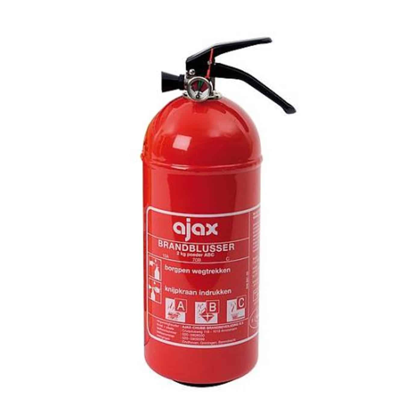 Koop Ajax KP2 Brandblusser poeder 2 kg (2e kans)