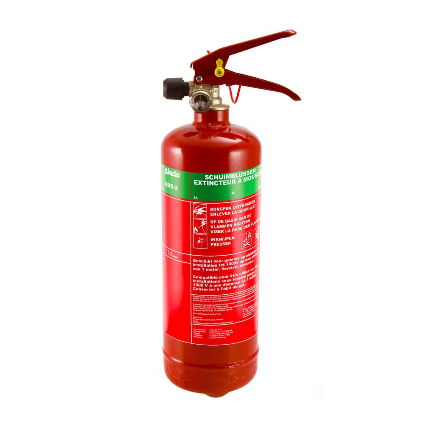 Koop Alecto ABS-2 Brandblusser schuim 2 liter