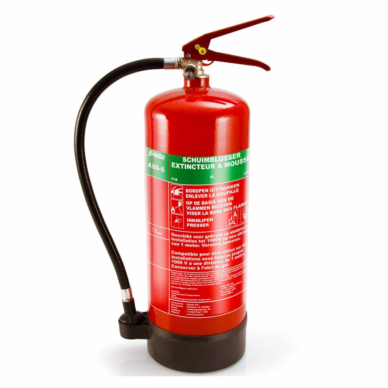 Koop Alecto ABS-6 Brandblusser schuim 6 liter (2e kans)