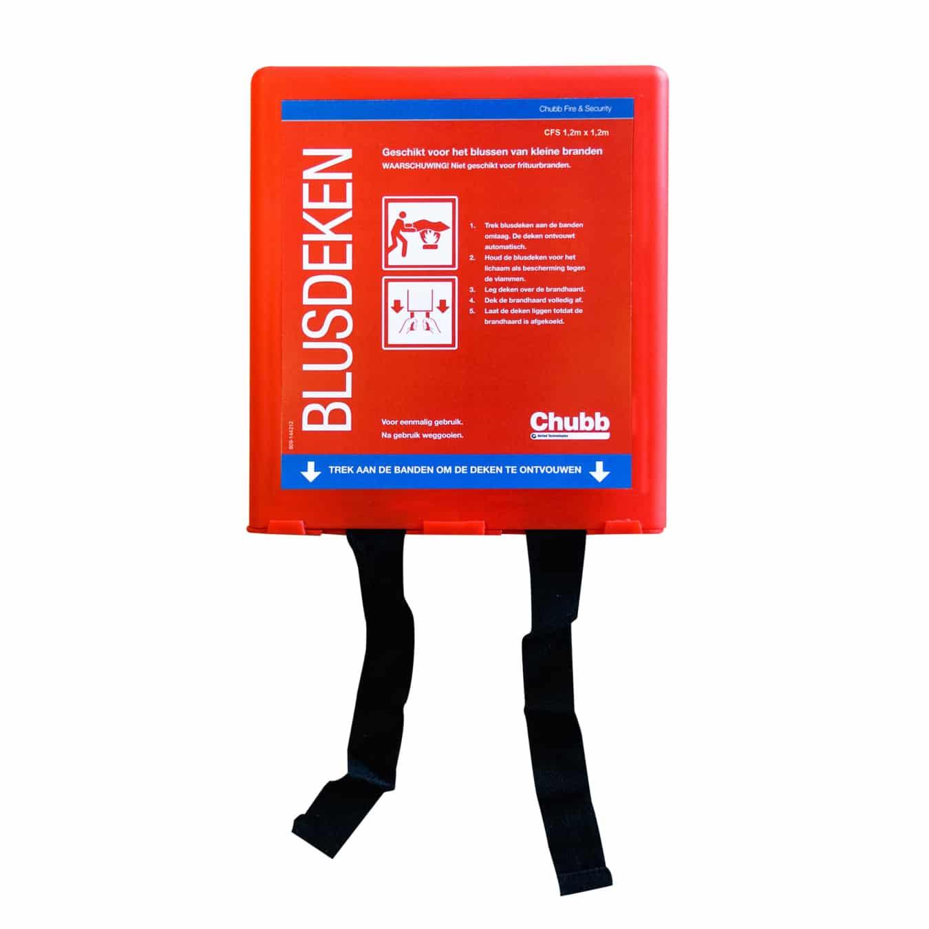 Koop Ajax Chubb Blusdeken 1.1 x 1.1 m