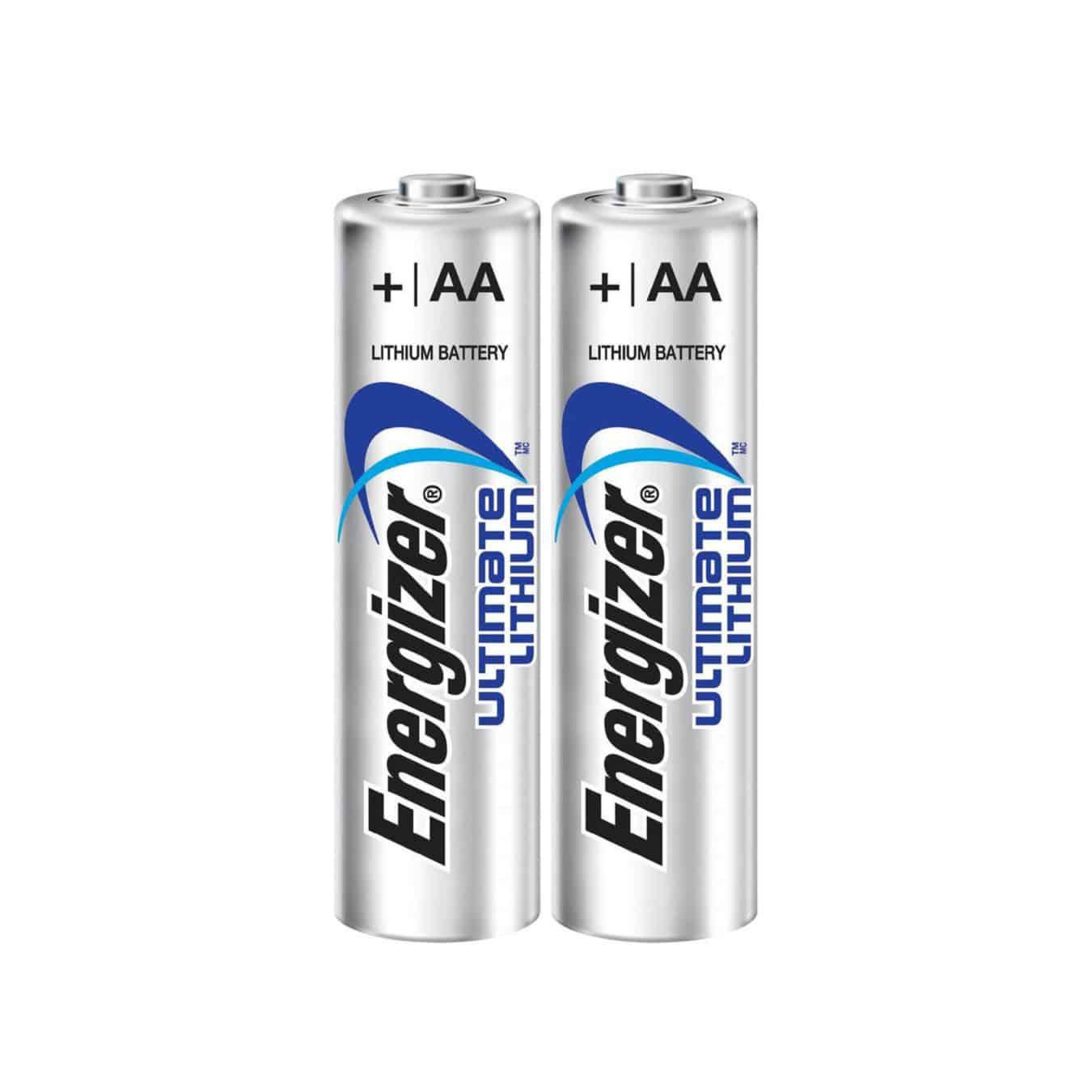 Koop Lithium AA batterijen Energizer Ultimate L91 (2 stuks)