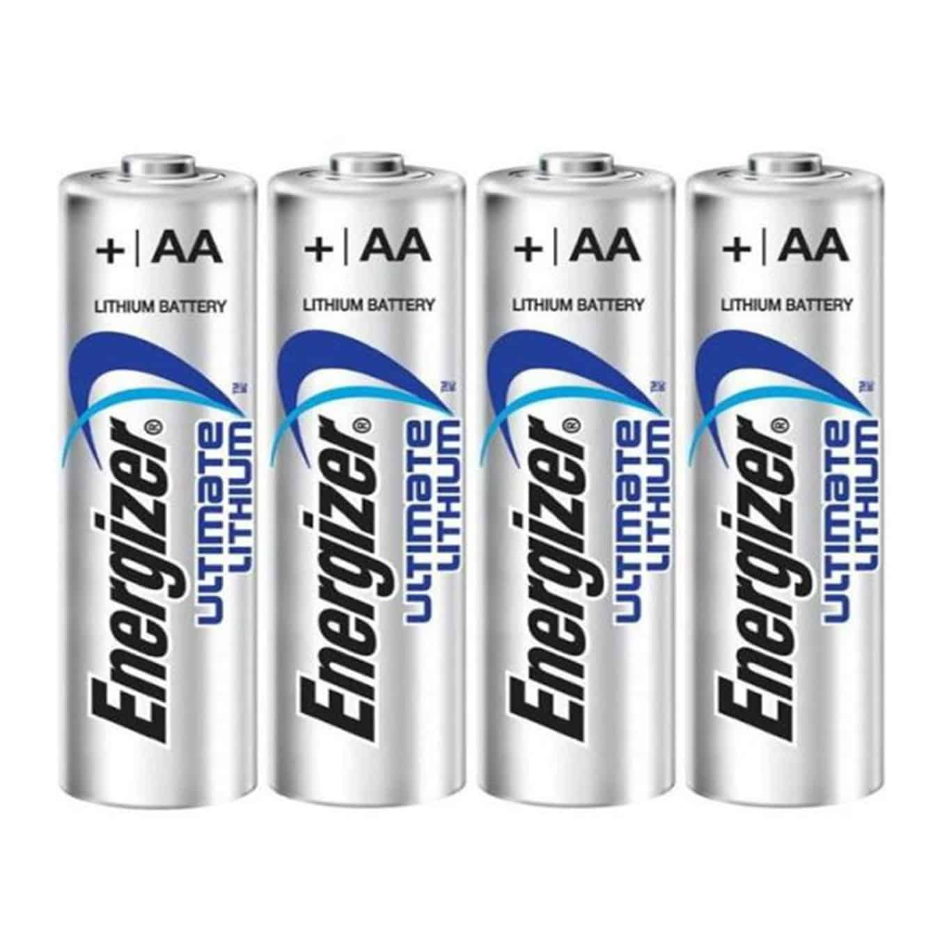 Koop Lithium AA batterijen Energizer Ultimate L91 (4 stuks)