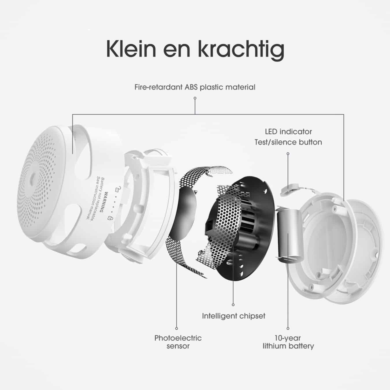 Koop X-Sense XS01-W Rookmelder - draadloos koppelbaar
