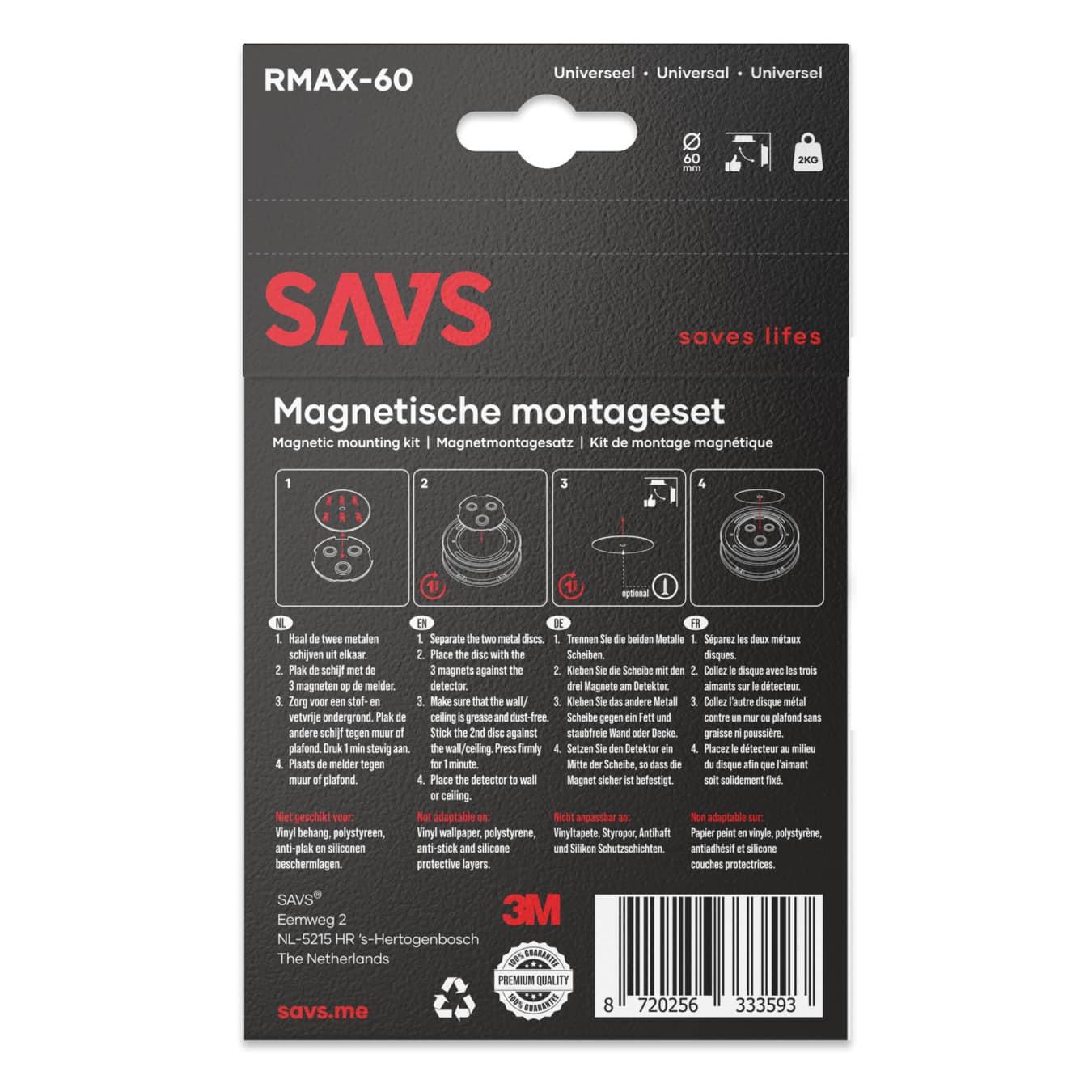 Koop Magnetische montageset RMAX-60 - 60mm