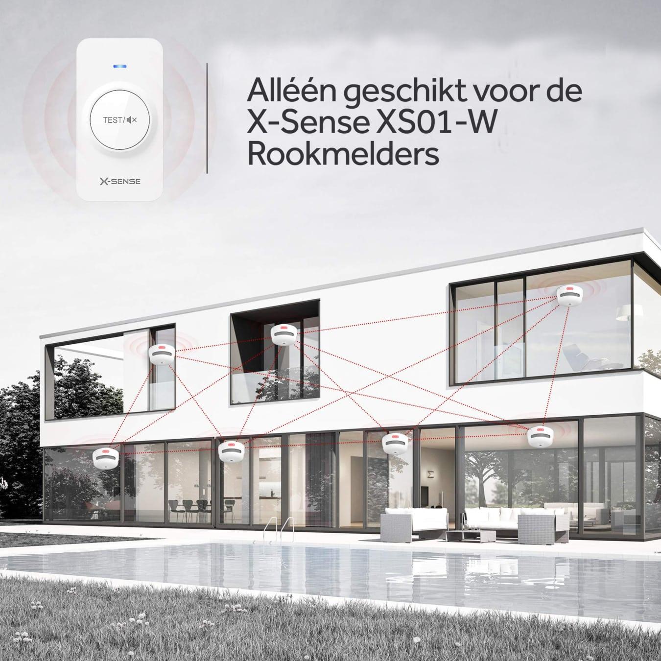 Koop X-Sense RC01 Afstandsbediening RF