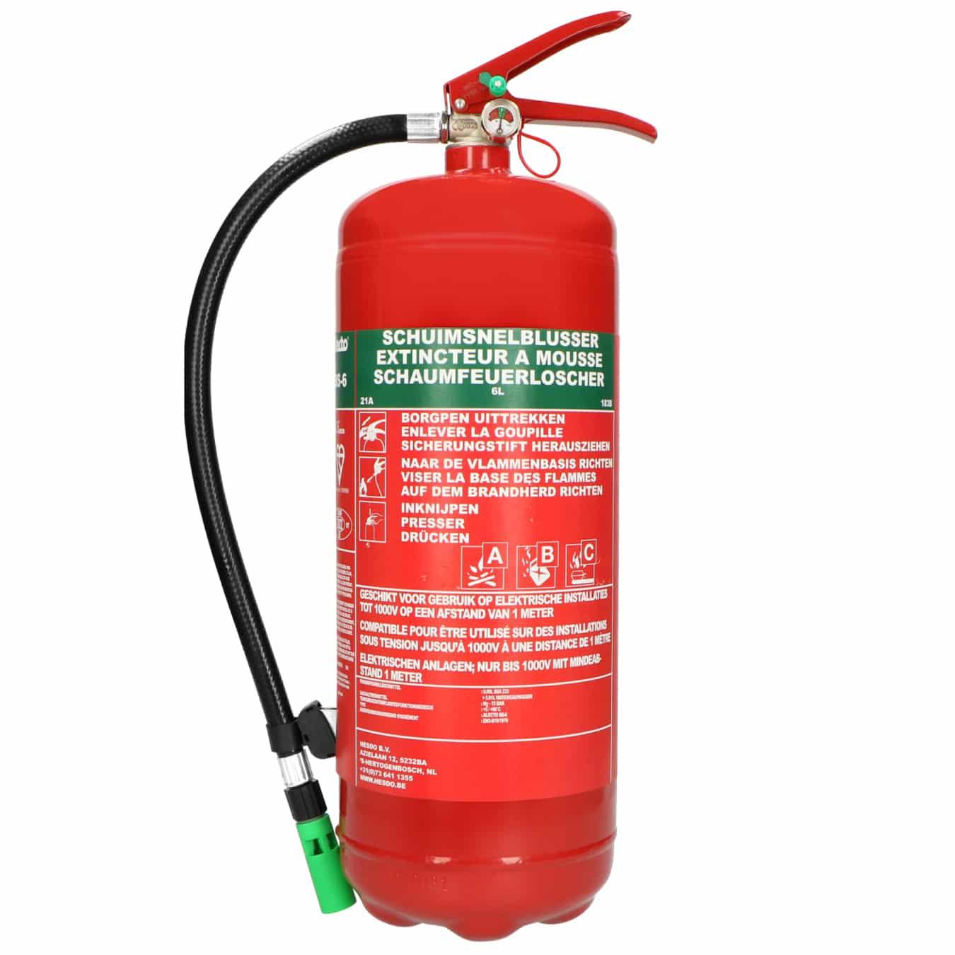 Koop Alecto ABS-6 Brandblusser schuim 6 liter